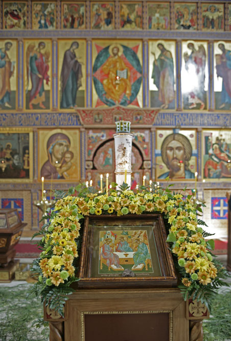 престол Рождества Богородицы throne of Birth of Virgin
