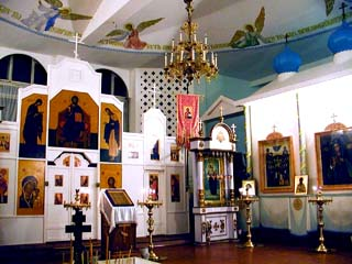 Церковь Достойно есть в Обнинске Church of Virgin the It's worthily in Obninsk