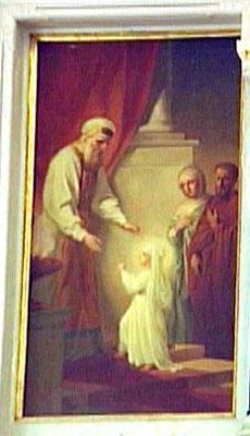 Введение во храм Presentation of Virgin in the temple